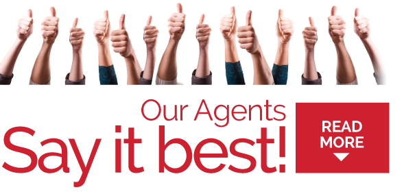 Our Agent Testimonials